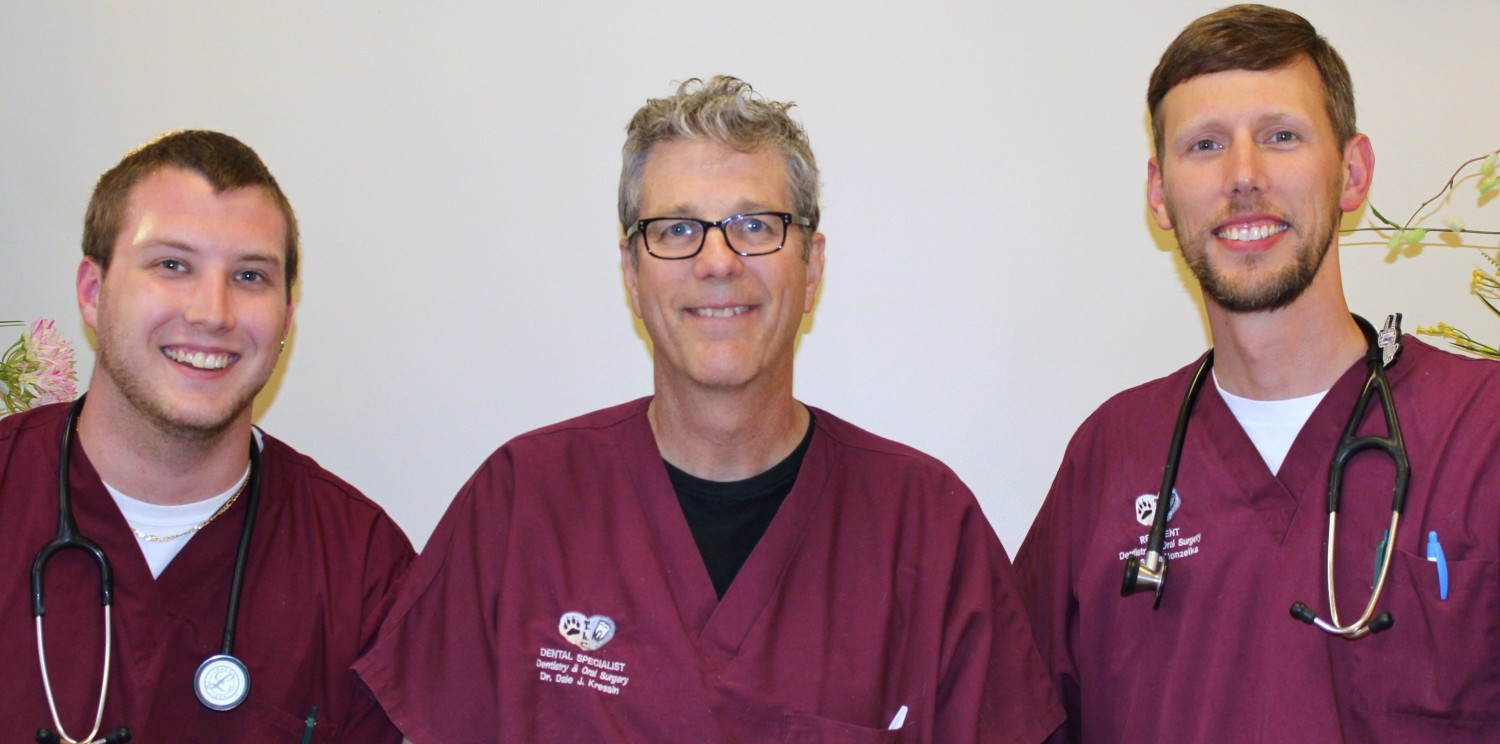 Chad Clickner (left), Dr. Kressin (center) Dr. Steve Honzelka (right): Greenfield, Glendale, Oshkosh